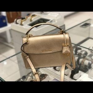 MK  Gold small AVA Bag